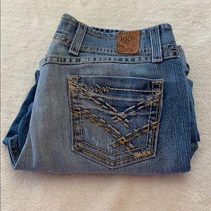 Buckle BKE Jeans Wendi crop stretch size 28